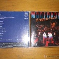 CDs de Música: CD MOCEDADES - 15 AÑOS DE MÚSICA. Lote 48266889