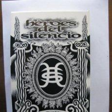 CDs de Música: HEROES DEL SILENCIO. BUNBURY. CAJA EN DIRECTO CD, VIDEO Y LIBRO. EDICION LIMITADA ORIGINAL.. Lote 48269114