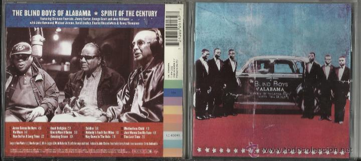 THE BLIND BOYS OF ALABAMA CD SPIRIT OF THE CENTURY (Música - CD's Jazz, Blues, Soul y Gospel)