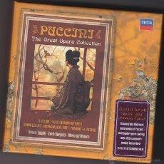 CDs de Música: PUCCINI - THE GREAT OPERA COLLECTION - TEBALDI - BERGONZI - DEL MÓNACO - 15 CD'S. Lote 48283012