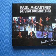 CDs de Música: PAUL MCCARTNEY DRIVING PHILADELPHIA CD/CARTON CANADA 2002 PDELUXE. Lote 48287957
