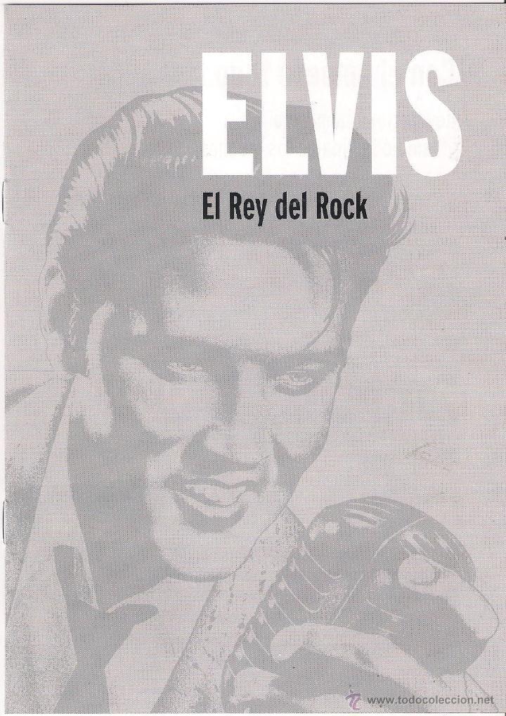 ELVIS PRESLEY - ELVIS EL REY DEL ROCK - 20 LIBRO CD COLECCIÓN ELVIS. EL REY DEL ROCK 2008 SONY/RBA (Música - CD's Rock)
