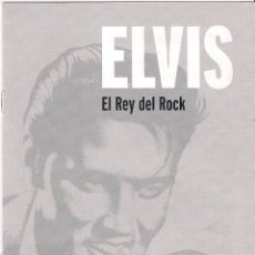 CDs de Música: ELVIS PRESLEY - ELVIS EL REY DEL ROCK - 20 LIBRO CD COLECCIÓN ELVIS. EL REY DEL ROCK 2008 SONY/RBA. Lote 48298089