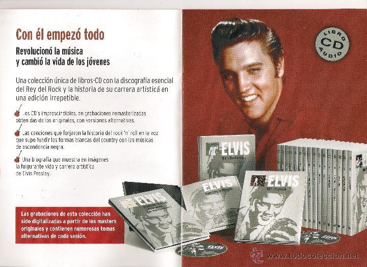 CDs de Música: Elvis Presley - Elvis el rey del rock - 20 Libro CD Colección Elvis. El rey del rock 2008 Sony/RBA - Foto 2 - 48298089