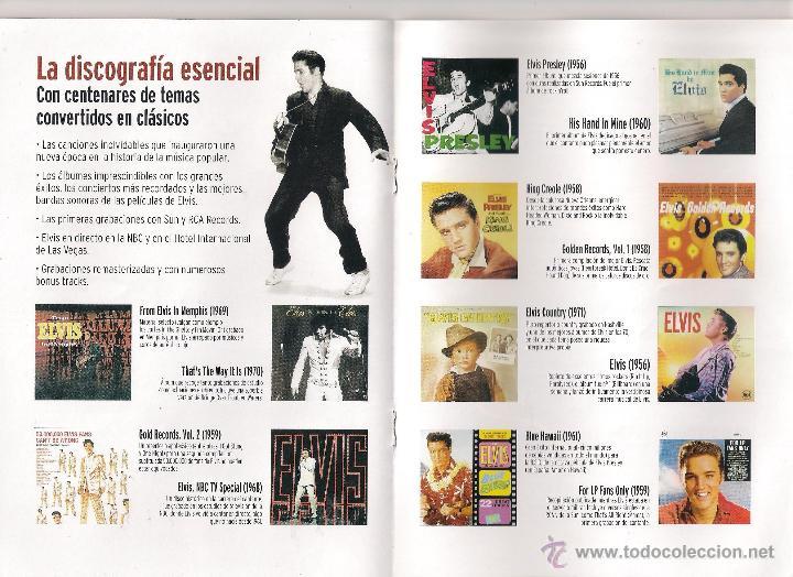 CDs de Música: Elvis Presley - Elvis el rey del rock - 20 Libro CD Colección Elvis. El rey del rock 2008 Sony/RBA - Foto 3 - 48298089