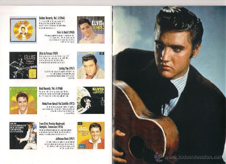 CDs de Música: Elvis Presley - Elvis el rey del rock - 20 Libro CD Colección Elvis. El rey del rock 2008 Sony/RBA - Foto 4 - 48298089