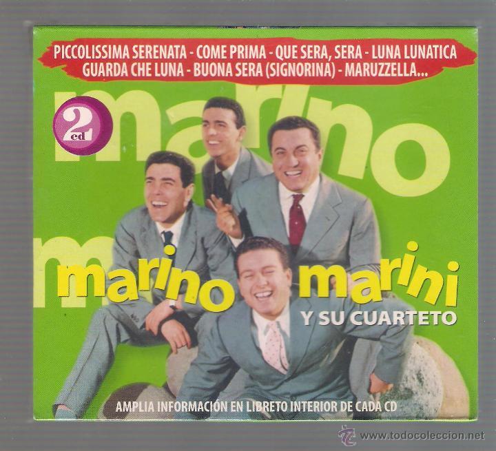 MARINO MARINI Y SU CUARTETO - PICCOLISSIMA SERENATA. BUONA SERA (2 CD 2006 HELIX NOVOSON) (Música - CD's Latina)