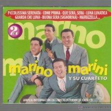 CDs de Música: MARINO MARINI Y SU CUARTETO - PICCOLISSIMA SERENATA. BUONA SERA (2 CD 2006 HELIX NOVOSON). Lote 48298280