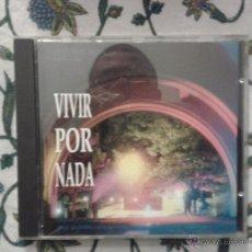 CDs de Música: CD NUEVO SIN PRECINTAR BSO BANDA SONORA ORIGINAL CINE ESPAÑOL VIVIR POR NADA JORGE SACRISTÁN. Lote 48306034