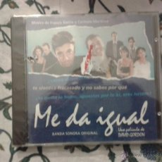 CDs de Música: CD NUEVO PRECINTADO BSO BANDA SONORA ORIGINAL CINE ESPAÑOL ME DA IGUAL. Lote 70245506
