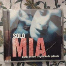 CDs de Música: CD NUEVO SIN PRECINTAR BSO BANDA SONORA ORIGINAL CINE ESPAÑOL SOLO MÍA ANTONIO VEGA CLARA MONTES ETC. Lote 67561091
