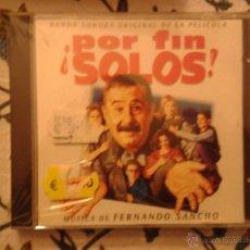 CDs de Música: CD NUEVO PRECINTADO BSO BANDA SONORA ORIGINAL CINE ESPAÑOL POR FIN ¡SOLOS! ALFREDO LANDA. Lote 49032902