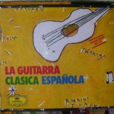 CDs de Música: LA GUITARRA CLASICA ESPAÑOLA...ALBENIZ-FALLA-JOAQUIN RODRIGO...ETC...NARCISO YEPES (GUITARRA). Lote 48317866