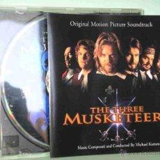 CD de Música: LOS TRES MOSQUETEROS, BSO, B S O, BRYAN ADAMS, ROD STEWARD, STING, THE THREE MUSKETEERS, CD. Lote 48318176