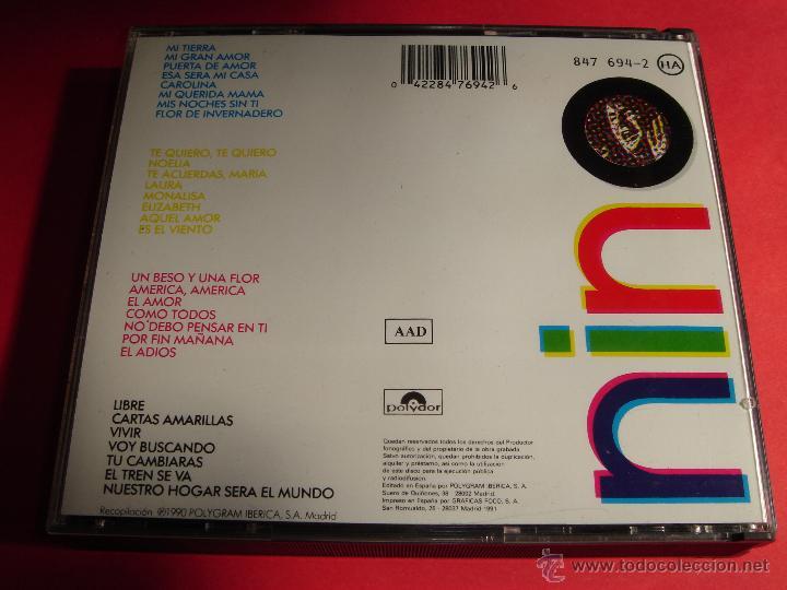 CDs de Música: NINO BRAVO / 30 GRANDES CANCIONES / GRANDES ÉXITOS / LO MEJOR DE / 2 CD - Foto 2 - 48339233