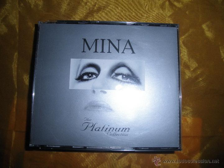 MINA. THE PLATINUM COLLECTION. 3 CD´S. (FALTA EL CD Nº 1) CON LIBRETO (Música - CD's Melódica )