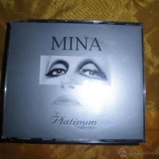 CDs de Música: MINA. THE PLATINUM COLLECTION. 3 CD´S. (FALTA EL CD Nº 1) CON LIBRETO. Lote 48340846