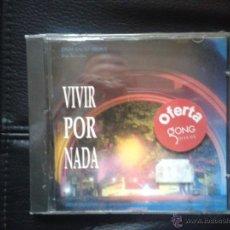 CDs de Música: CD NUEVO PRECINTADO BSO BANDA SONORA ORIGINAL CINE ESPAÑOL VIVIR POR NADA. Lote 48345893