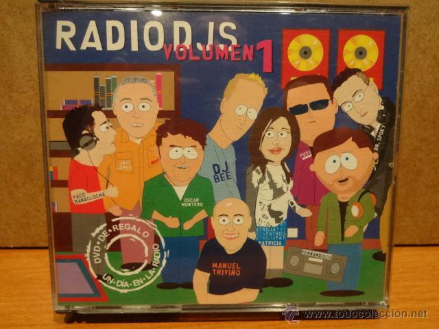 RADIO DJS VOLUMEN 1. DOBLE CD + DVD /INSOMNIA. MUY BUENA CALIDAD. (Música - CD's Disco y Dance)