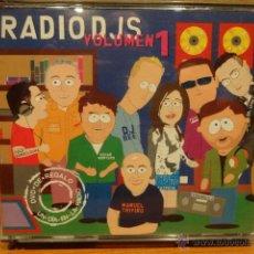 CDs de Música: RADIO DJS VOLUMEN 1. DOBLE CD + DVD /INSOMNIA. MUY BUENA CALIDAD.. Lote 48351307