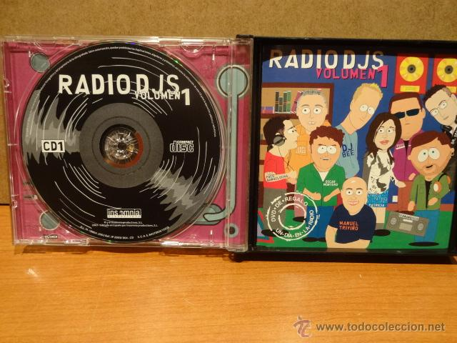 CDs de Música: RADIO DJS VOLUMEN 1. DOBLE CD + DVD /INSOMNIA. MUY BUENA CALIDAD. - Foto 2 - 48351307