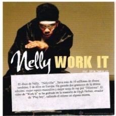 CDs de Música: NELLY - WORK IT - CD SINGLE 2003 - PROMO. Lote 48358014