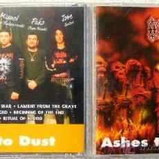 CDs de Música: ORLAC.ASHES TO ASHES(1º ALBUM)..DEATH-METAL...ARAGON...MUY RARO. Lote 48367416