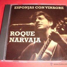CDs de Música: ROQUE NARVAJA / ESPONJAS CON VINAGRE / CONCIERTO EN DIRECTO / GRANDES ÉXITOS / LO MEJOR DE / CD. Lote 48371688