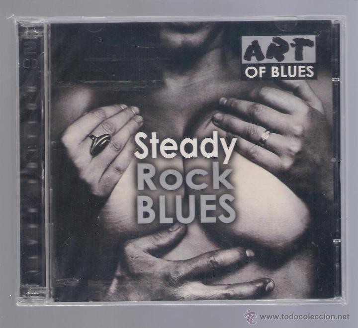 STEADY - ROCK BLUES (2 CD 2001 ART OF BLUES ) (Música - CD's Jazz, Blues, Soul y Gospel)