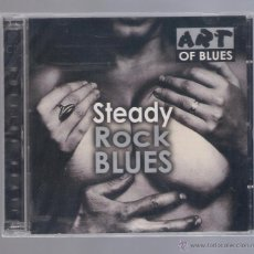 CDs de Música: STEADY - ROCK BLUES (2 CD 2001 ART OF BLUES ). Lote 48378191
