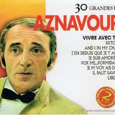 CDs de Música: CD 30 GRANDES DE AZNAVOUR. Lote 48383000