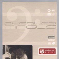 CDs de Música: CHARLES MINGUS - MODERN JAZZ ARCHIVE (2 CD + 20 PAGE BOOK, DIGIPACK). Lote 48396484