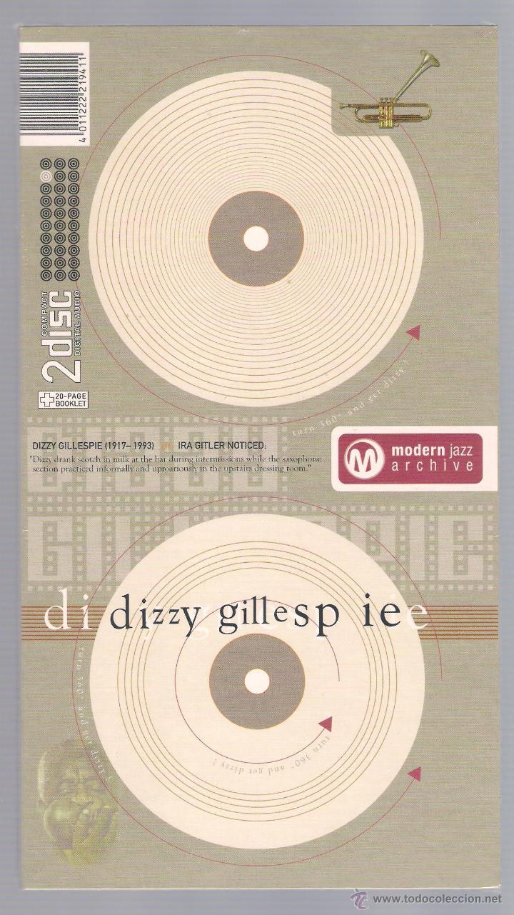 DIZZY GILLESPIE - MODERN JAZZ ARCHIVE (2 CD + 20 PAGE BOOK, DIGIPACK) (Música - CD's Jazz, Blues, Soul y Gospel)