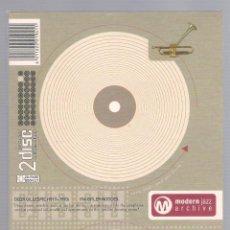 CDs de Música: DIZZY GILLESPIE - MODERN JAZZ ARCHIVE (2 CD + 20 PAGE BOOK, DIGIPACK). Lote 48396515