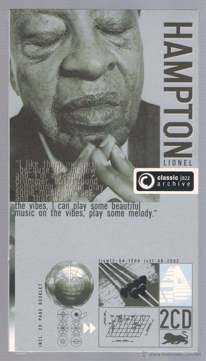 LIONEL HAMPTON - CLASSIC JAZZ ARCHIVE (2 CD + 20 PAGE BOOK, DIGIPACK) (Música - CD's Jazz, Blues, Soul y Gospel)