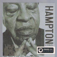 CDs de Música: LIONEL HAMPTON - CLASSIC JAZZ ARCHIVE (2 CD + 20 PAGE BOOK, DIGIPACK). Lote 48396686