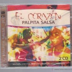 CDs de Música: VARIOS - EL CORAZÓN PALPITA SALSA (2 CD TIM). Lote 48397317