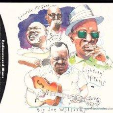 CDs de Música: BIG JOE WILLIAMS - LIGHTNIN' HOPKINS - BROWNIE. Lote 48403808