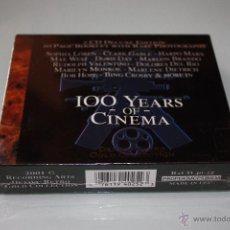 CDs de Música: 100 YEARS OF CINEMA - 2 CDS - DEJAVU RETRO GOLD COLLECTION . Lote 48415575