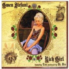 CDs de Música: GWEN STEFANI - RICH GIRL - CD SINGLE 2004 - PROMO. Lote 48431653