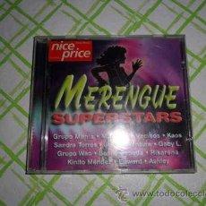 CDs de Música: MERENGUE SUPERSTARS CD 1997. Lote 48440834