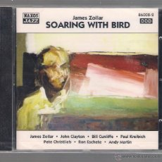 CDs de Música: JAMES ZOLLAR - SOARING WITH BIRD (CD 1997 NAXOS JAZZ). Lote 48441489