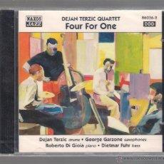 CDs de Música: DEJAN TERZIC QUARTET - FOUR FOR ONE (CD 1999 NAXOS JAZZ). Lote 48441502