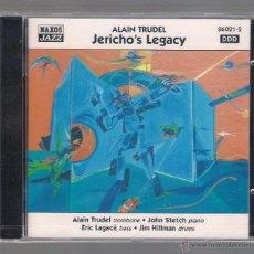 CDs de Música: ALAIN TRUDEL - JERICHO'S LEGACY (CD 1998 NAXOS JAZZ). Lote 48441601