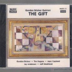 CDs de Música: GORDON BRISKER QUINTET - THE GIFT (CD 1997 NAXOS JAZZ). Lote 48441638