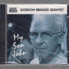 CDs de Música: GORDON BRISKER QUINTET - MY SON JOHN (CD 2001 NAXOS JAZZ). Lote 48441685