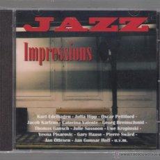 CDs de Música: VARIOS - JAZZ IMPRESSIONS (CD 2013 NAXOS JAZZ). Lote 48441925