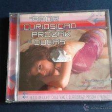 CDs de Música: CD NUEVO PRECINTADO BSO BANDA SONORA ORIGINAL CINE ESPAÑOL AMOR CURIOSIDAD PROZAK PROZAC Y DUDAS. Lote 48450333