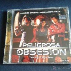 CDs de Música: CD NUEVO PRECINTADO BSO BANDA SONORA ORIGINAL CINE ESPAÑOL PELIGROSA OBSESIÓN PABLO ECHARRI SONY. Lote 48450362