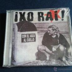 CDs de Música: CD NUEVOXIN PRECINTAR IXO RAI ! CON EL AGUA AL CUELLO DESOBEDIENCIA RECORDS ROCK POP RADICAL 2001. Lote 51963237